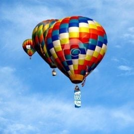 Flying Balloon Trio