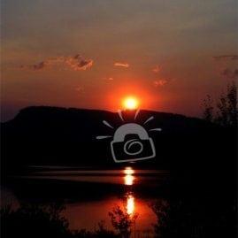 Sunset Teton