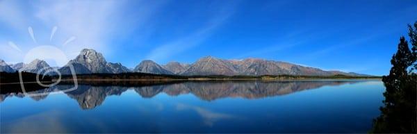 Grand Teton Reflected