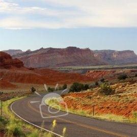 A road through the desert