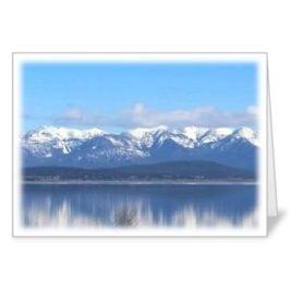 Flathead Lake – 5×7 Card