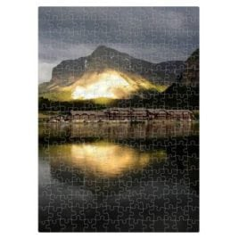 Swiftcurrent Lake – 252 piece puzzle